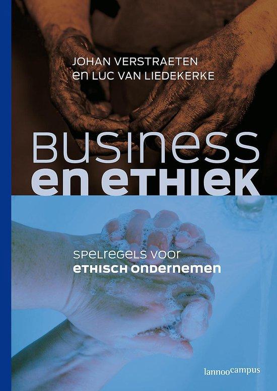 Business & Ethiek - J. Verstraeten | Fthsonline.com