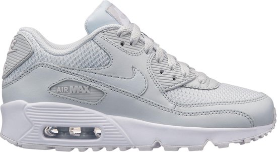 Nike Air Max 90 Mesh Sneakers Kinderen - wit/grijs