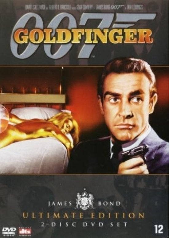 Cover van de film 'Goldfinger'