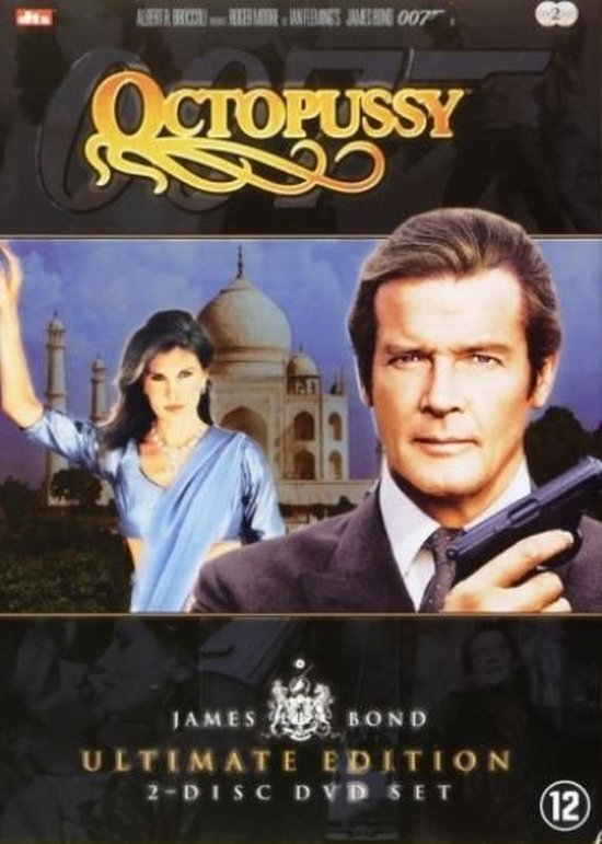 Cover van de film 'James Bond - Octopussy'