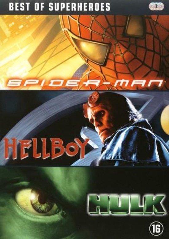 Cover van de film 'Best Of Superheroes'