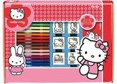 Multiprint Kleurset Hello Kitty 22-delig Roze