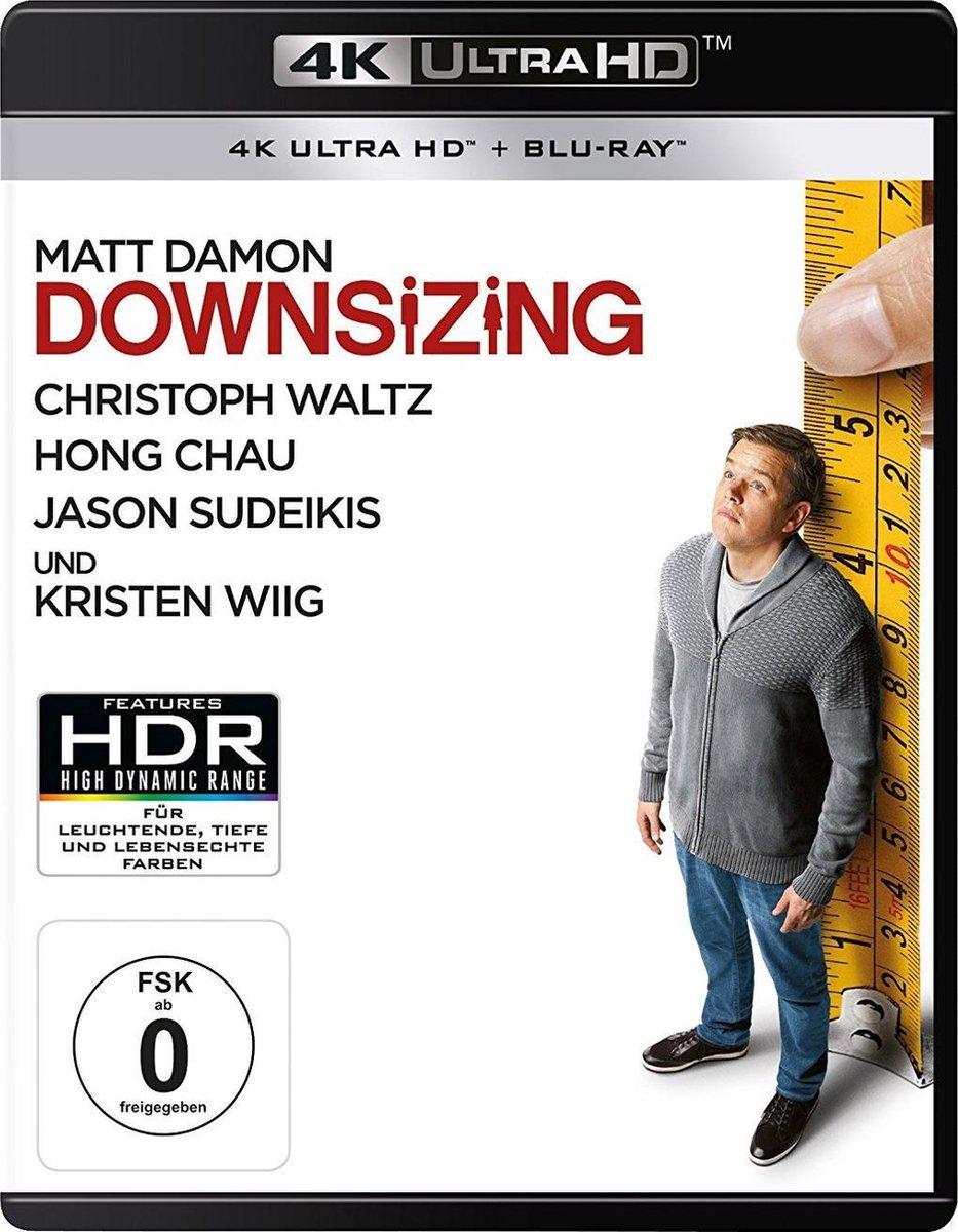 Downsizing (Ultra HD Blu-ray & Blu-ray)-