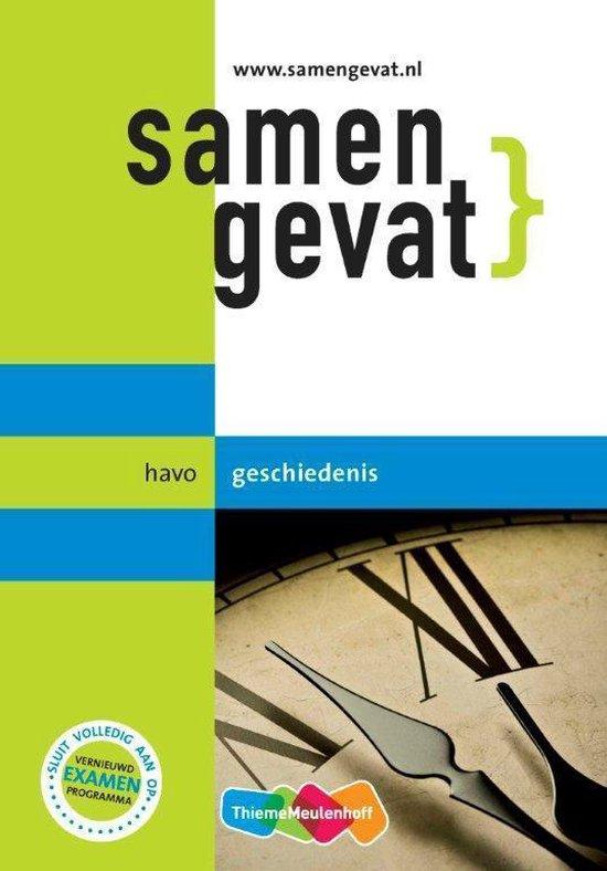 Boek cover Samengevat - havo Geschiedenis van Yvonne Bouw (Paperback)