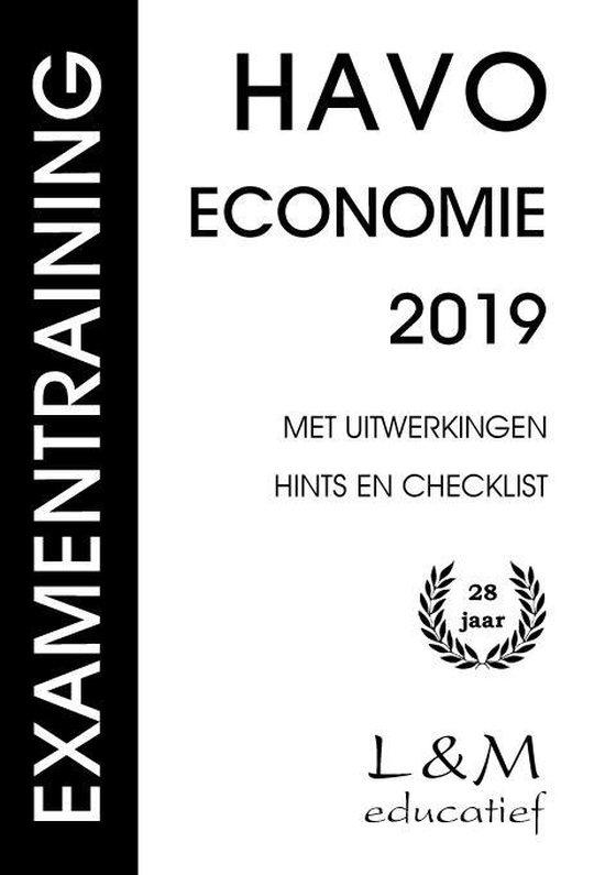 Examentraining Havo Economie 2019 - Hans Vermeulen | Fthsonline.com