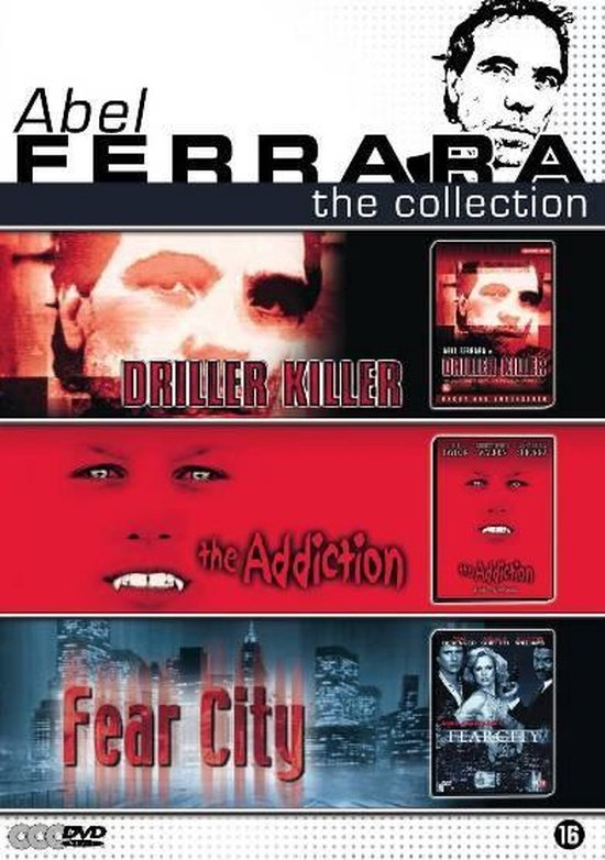 Cover van de film 'Abel Ferrara-The Collection'