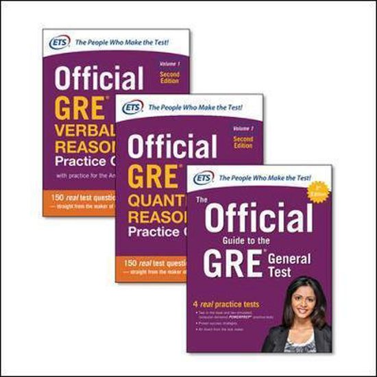 Boek cover Official GRE Super Power Pack, Second Edition van Educational Testing Service (Paperback)
