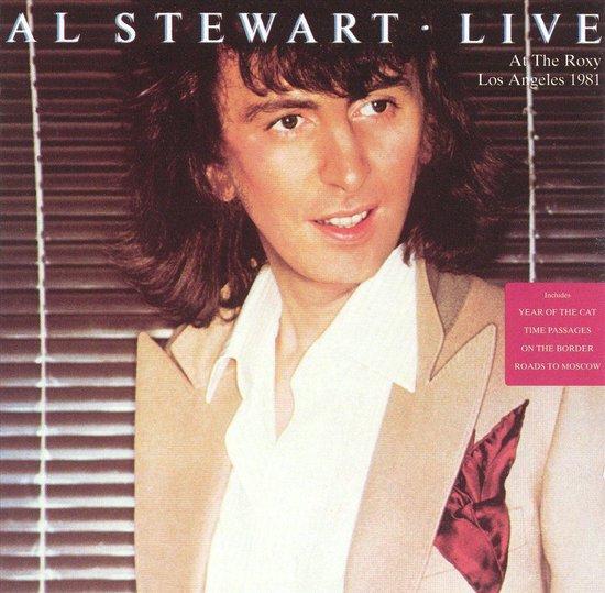 CD cover van Live: At The Roxy Los Angeles 1981 van Al Stewart