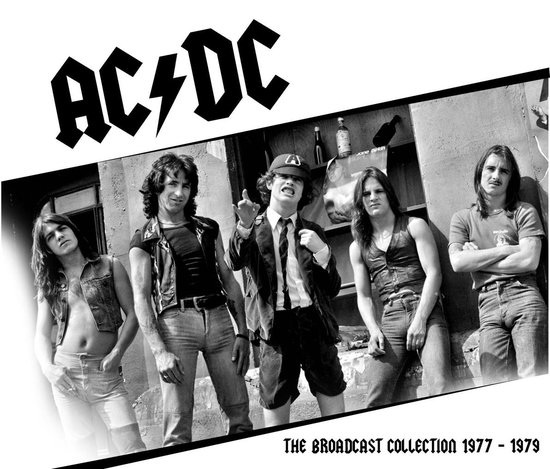 CD cover van The Broadcast Collection 1977 -1979 van AC/DC