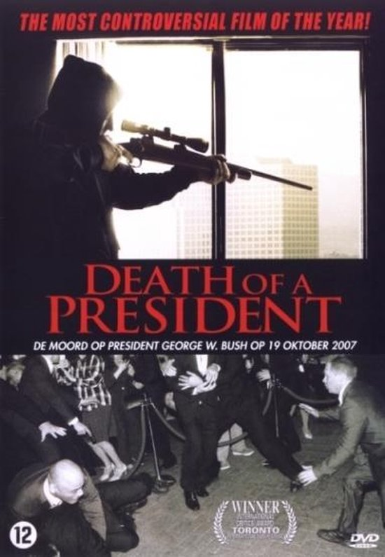 Cover van de film 'Death Of A President'