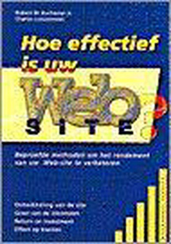 HOE EFFECTIEF IS UW WEB-SITE? - Robert W. Buchanan pdf epub