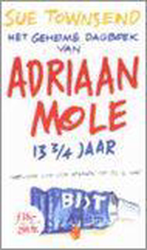 Het Geheime Dagboek Van Adriaan Mole 13 3/4 Jaar - Sue Townsend  