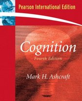 Boek cover Cognition van Mark H. Ashcraft