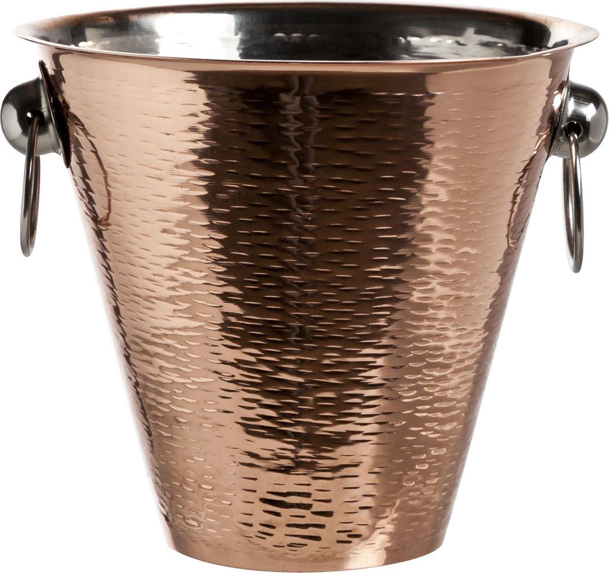 Cosy & Trendy Copper Champagne Emmer - Ø 18 cm x 17 cm - Cosy&Trendy