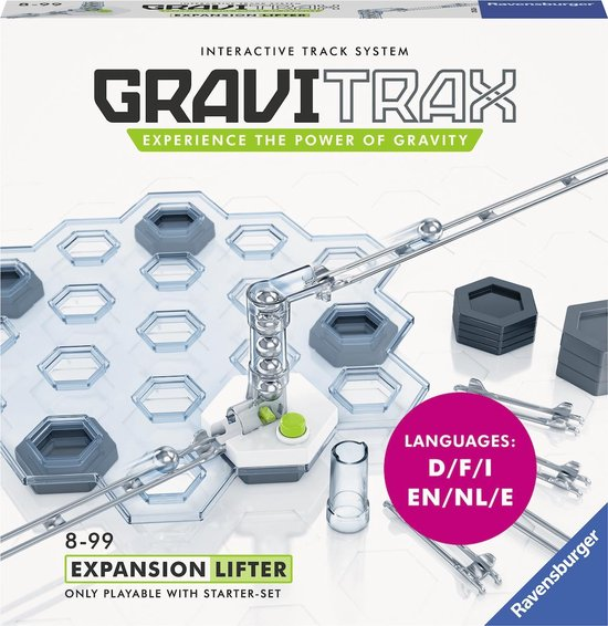 Afbeelding van GraviTrax® Lifter uitbreiding - knikkerbaan / Kogelbaan