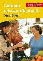 Boek cover Culinair Reiswoordenboek Spaans van O.H. Kleyn