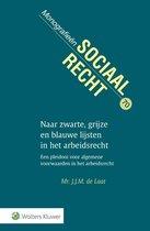 Monografieen sociaal recht 70 -   Naar zwarte, grijze en blauwe lijsten in het arbeidsrecht