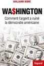 Boek cover Washington van Guillaume Debre