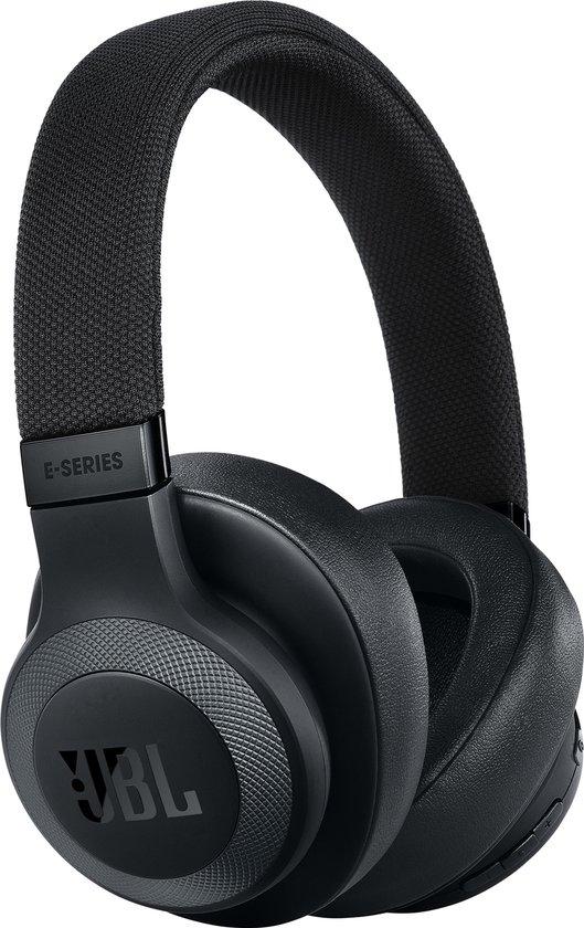 JBL E65BT NC - Draadloze over-ear koptelefoon met noise cancelling - Zwart