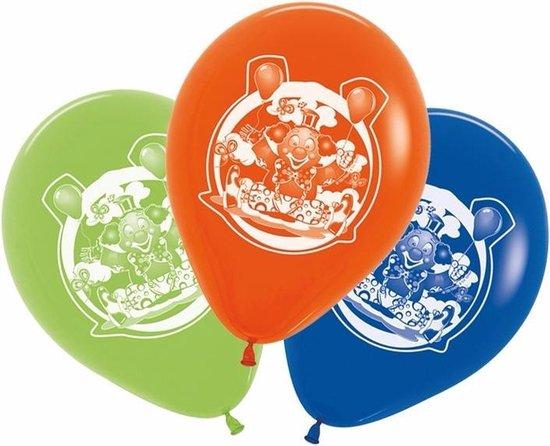 Gekleurde ballonnen clown 5 stuks