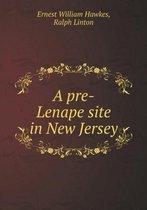 A Pre-Lenape Site in New Jersey