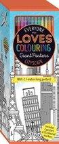 Colouring Poster Box