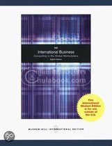 Boek cover International Business van Charles Hill
