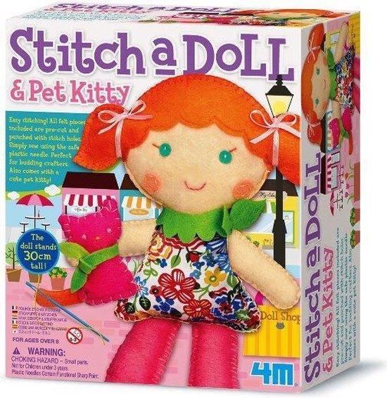 2766 - 4M - Stitch a Doll & Pet Kitty