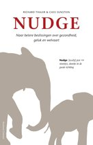 Boek cover Nudge van Richard Thaler (Onbekend)