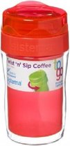 Sistema To Go Twist 'n Sip Coffee Small - Thermobeker oranje