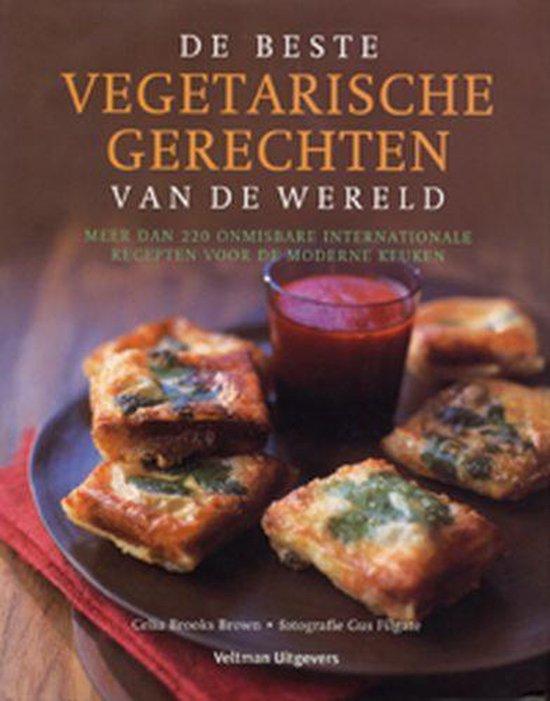 Cover van het boek 'De beste vegetarische recepten van de wereld'