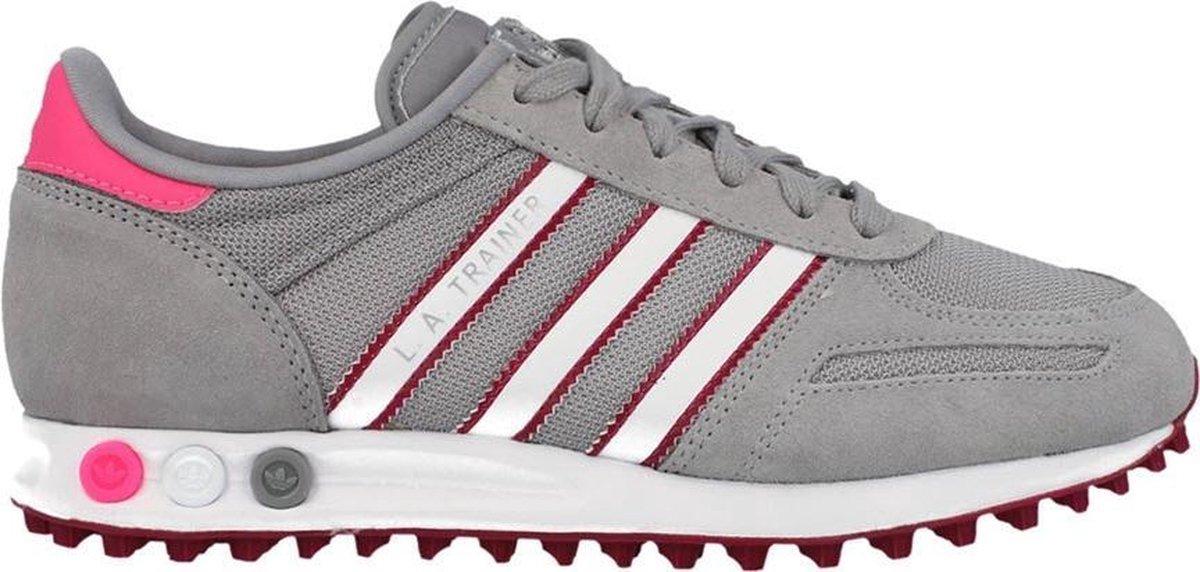 adidas Originals LA Trainer W - Sneakers - Vrouwen - Maat 39 - Grijs;Wit