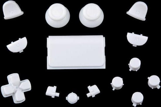 PS4 controller button replacement set wit
