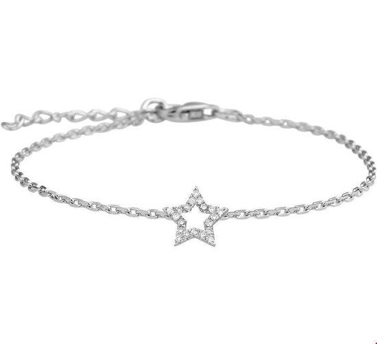 Mi Zalini Armband Witgoud K4102717