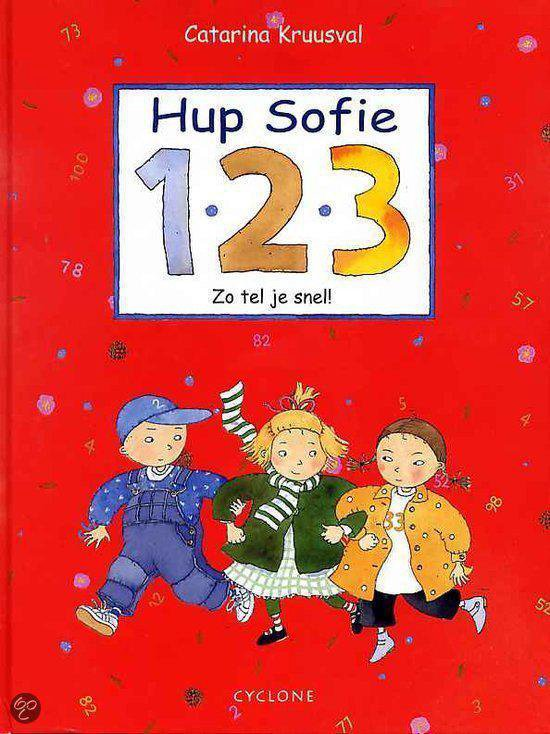 Cover van het boek '1 2 3 Hup, Sofie' van Catarina Kruusval