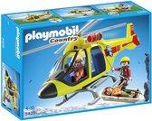 Playmobil Reddingshelikopter in de Bergen - 5428