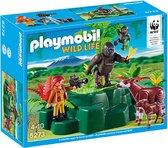 Playmobil gorilla's en okapi's