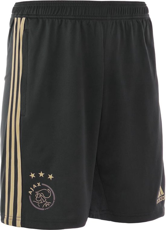adidas Ajax training short uit Heren 2018-2019 - zwart/beige - maat XS