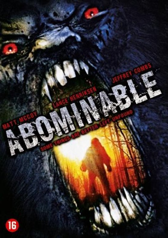 Cover van de film 'Abominable'