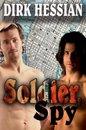 Boek cover Soldier, Spy van Dirk Hessian