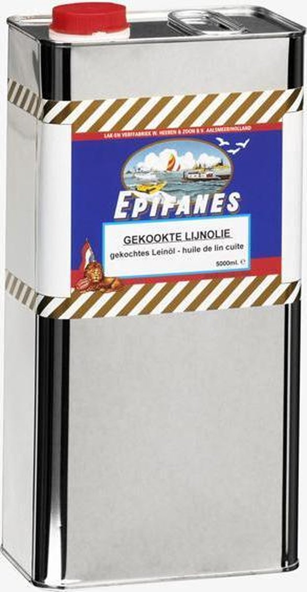 Epifanes Gekookte Lijnolie - Epifanes