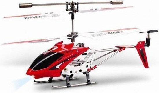Syma S107G RC helicopter rood