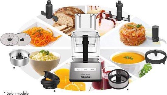 Magimix Cuisine Systeme 5200XL Premium - Foodprocessor - Chroom