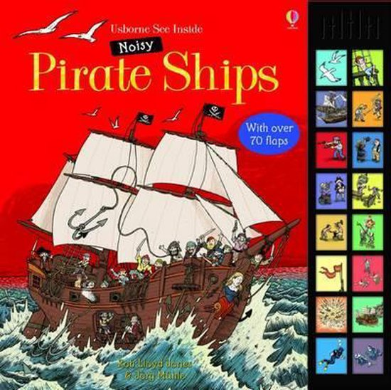 Boek cover Noisy Pirates van Rob Lloyd Jones (Hardcover)