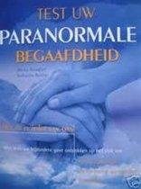 Boek cover Test Uw Paranormale Begaafdheid van Martin Bensdorf