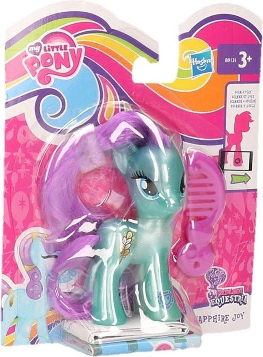 My Little Pony Sapphire Joy speelfiguur 8 cm - My Little Pony