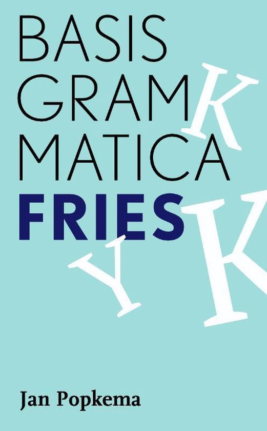 Basisgrammatica Fries - Jan Popkema  