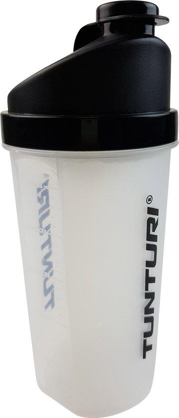 Tunturi Protein Shaker - Shakebeker met zeef - 700ml