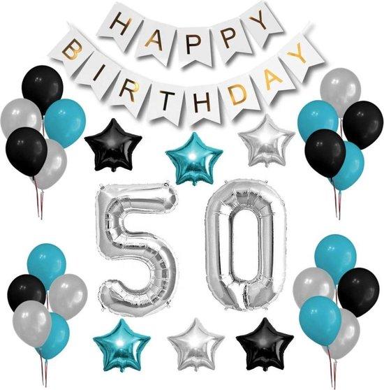 Ongekend bol.com   Verjaardag versiering 50 jaar feestje - sara decoratie KM-98