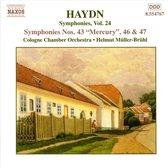 Haydn: Symphonies No.43,46&47